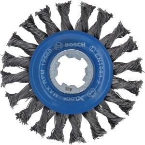 Apaļa stiepļu birste Bosch 2608620731; 115 mm