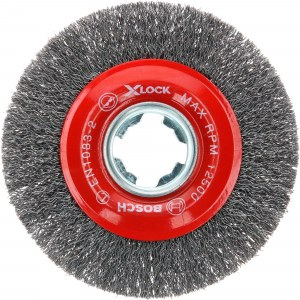 Apaļa stiepļu birste Bosch 2608620732; 115 mm