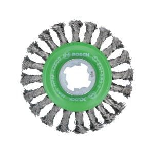 Apaļa stiepļu birste Bosch 2608620733; 115 mm