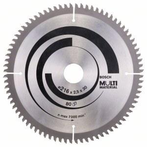 Griešanas disks kokam Bosch; MULTI MATERIAL; Ø216 mm