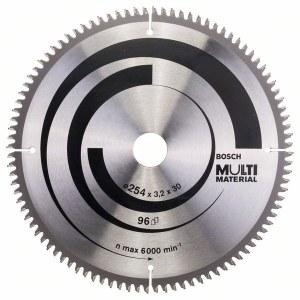 Griešanas disks kokam Bosch; MULTI MATERIAL; Ø254 mm