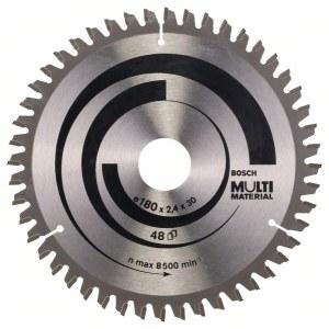 Griešanas disks kokam Bosch MULTI MATERIAL; 180x2,4x30,0 mm; Z48; -5°