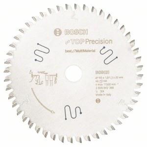 Griešanas disks kokam Bosch; 165x1,8x20,0 mm; Z48; 0°