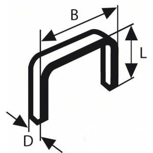Skavas Bosch; 10,6x8 mm; 1000 gab.; tips 59