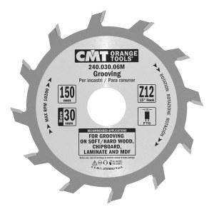 Griešanas disks kokam CMT 150x6x35; Z12; 15°