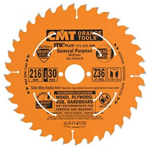 Griešanas disks kokam CMT 271.216.36M; d=216 mm