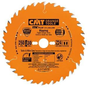 Griešanas disks kokam CMT 250x2,4x30; Z24; 20°