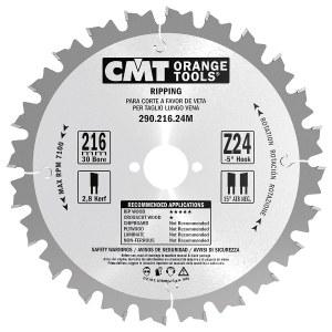 Griešanas disks kokam CMT 240x2,8x30; Z24; 20°