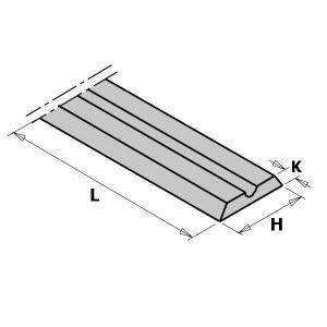 Ēveles asmeņi CMT 790.992.00; 92x5,5x1,1 mm; HWM; 10 gab.