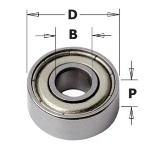 Balsta gultnis CMT 791.021.00; 22,2x9,52x18 mm