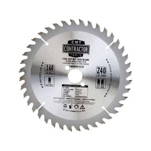 Griešanas disks kokam CMT 160x2.2x20; Z40; 10°