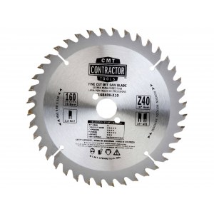 Griešanas disks kokam CMT K16040H-X10; d=160 mm; 1 gab.