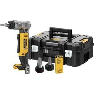 Plastmasas cauruļu paplašinātājs DeWalt DCE400NT-XJ; 18 V (bez akumulatora un lādētāja)