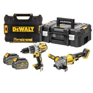 Набор инструментов DeWalt (DCD996 + DCG414); 18/54 V; 2x6,0 Ah аккум.