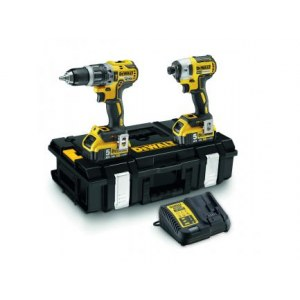 Набор инструментов DeWalt DCK266P2 (DCD796+DCF887); 18 V; 2x5,0 Ah аккум.