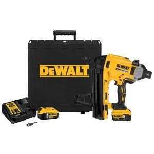Гвоздезабиватель строительный аккумуляторный DeWalt DCN890P2; 18 V; 2x5,0 Ah аккум.