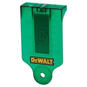 Lāzera mērķa plāksne DeWalt DE0730G-XJ