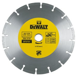 Dimanta griešanas disks DeWalt UNIVERSAL DT3731; 230 mm