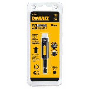 Skrūvgrieža uzgaļu magnētiskais turētājs DeWalt DT7430-QZ; 8 mm