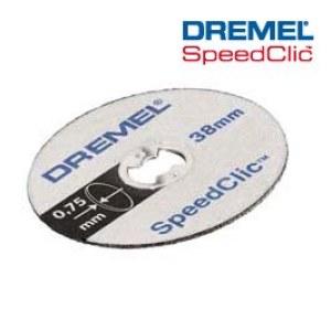 Plānie griešanas diski SpeedClic Dremel SC409; 5 gab.