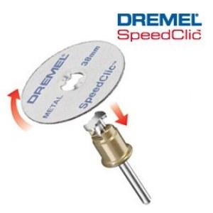 Metāla griešanas disku komplekts SpeedClic Dremel SC456B 2; 12 gab.
