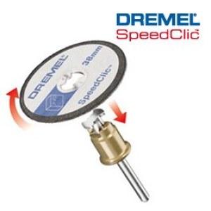 Plastmasas griešanas diski SpeedClic Dremel SC476, 38,0 mm; 5 gab.
