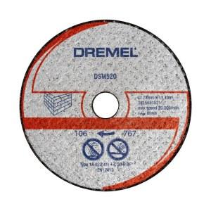 Mūra griešanas disks Dremel 2615S520JB; 77 mm