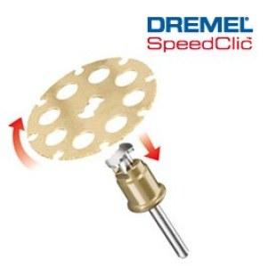 Koksnes griešanas disks SpeedClic Dremel SC544, 38,0 mm