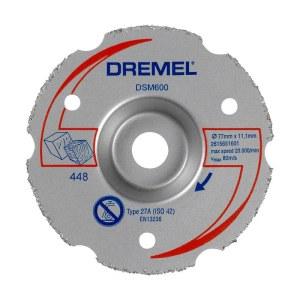 Universāls karbīda sadurgriešanas disks Dremel 2615S600JB; 77 mm