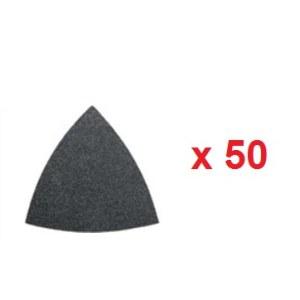Smilšpapīrs deltveida slīpmašīnām Fein; P80; 50 gab.