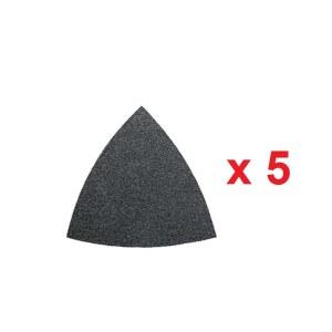 Smilšpapīrs deltveida slīpmašīnām Fein; P80; 5 gab.