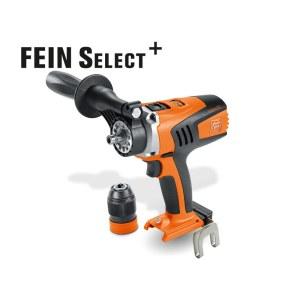 Urbjmašīna-skrūvgriezis FEIN ASCM 18 QM Select; 18 V (bez akumulatora un lādētāja)