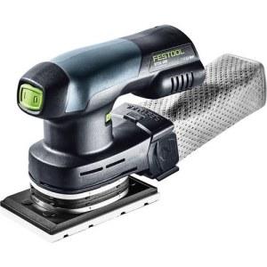 Orbitālā slīpmašīna Festool Rutscher RTSC 400 Li-Basic; 18 V (bez akumulatora un lādētāja)