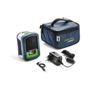 Radio Festool BR 10 DAB +; 10,8-18 V (bez akumulatora un lādētāja)