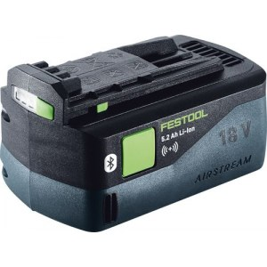 Akumulators Festool BP AS-ASI; 18 V; 5,2 Ah; Li-Ion; Bluetooth