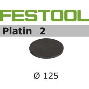 Smilšpapīrs ekscentra slīpmašīnai Platin 2; 125 mm; S2000; 15 gab.
