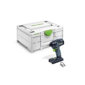 Akumulatora triecienskrūvgriezis Festool TID 18-Basic; 18 V (bez akumulatora un lādētāja)