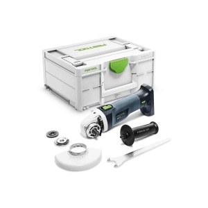 Akumulatora leņķa slīpmašīna Festool AGC 18-125 EB-Basic; 18 V (bez akumulatora un lādētāja)