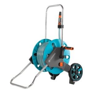 Laistīšanas šļaukas ratiņi Gardena AquaRoll M; 20 m; 13 mm ar laistīšanas šļūteni