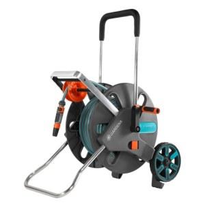 Laistīšanas šļaukas ratiņi Gardena AquaRoll L Easy; 50 m; 13 mm ar laistīšanas šļūteni