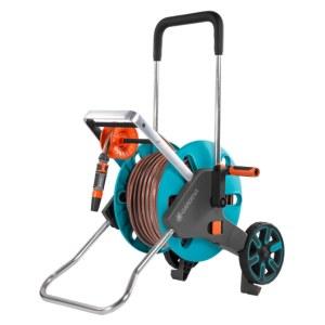 Laistīšanas šļaukas ratiņi Gardena AquaRoll M Easy; 20 m; 13 mm ar laistīšanas šļūteni