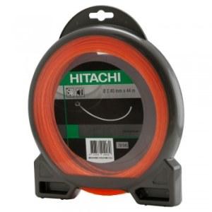 Aukla trimmerim Hitachi (15mx2,4mm) oranža, apaļa