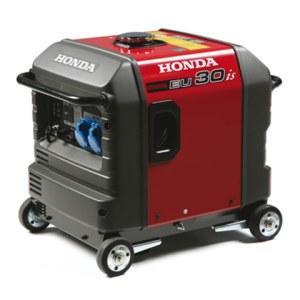 Vienfāzes ģenerators Honda EU30iS + eļļa