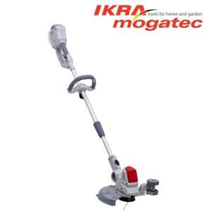 Zāles trimmeris Ikra Mogatec IAT 40-3025 LI; 40 V; 1x2,5 Ah akum.