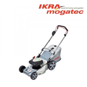 Zāles pļāvējs Ikra Mogatec IAM 40-4325; 40 V; 2x2,5 Ah akum.