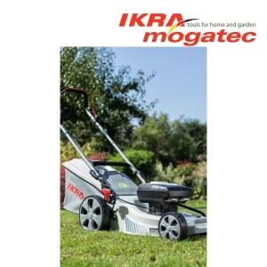 Zāles pļāvējs Ikra Mogatec IAM 40-4325; 40 V (bez akumulatora un lādētāja)