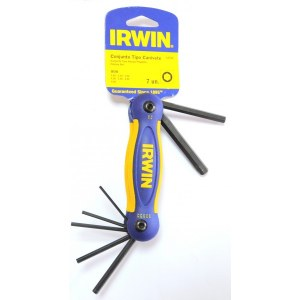 Seškanšu atslēgu komplekts Irwin; 7 vnt.