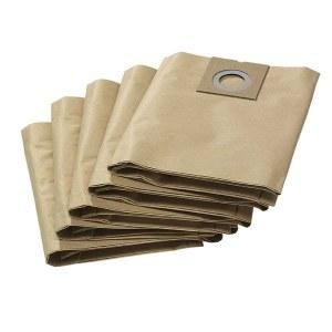 Papīra putekļu maisi putekļsūcējam Karcher NT 27/1; 5 gab.