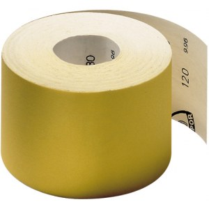 Smilšpapīra rullis Klingspor; PS 30 D; 115x4500 mm; K120; 1 gab.