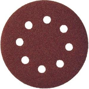 Smilšpapīrs ekscentra slīpmašīnai Klingspor; PS 22 K; GLS 5; 125 mm; K40; 5 gab.